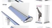 Displaysysteme – Rollup – Werbetechnik Hügel
