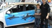 Referenzen Fahrzeug Folierung / Rodgau Automesse